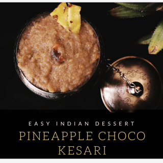 Pineapple Choco Kesari - Pineapple kesari recipe