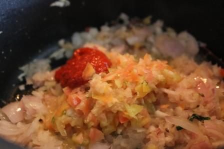 Methi Paneer Bhurji curry
