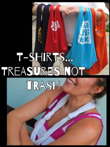 T-shirts Treasure not Trash