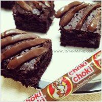 Brownies Chewy Fudgy  Choki Choki