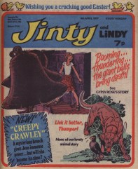 Jinty and Lindy 9 April 1977