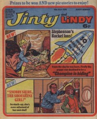 Jinty and Lindy 10 July 1976
