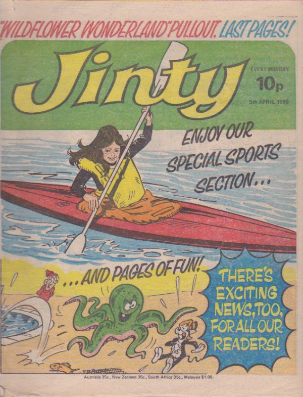 Jinty cover 5 April 1980