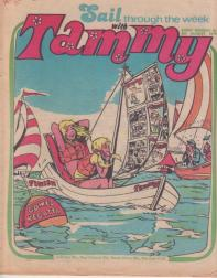 Tammy Cover 5 August 1978. Art by John Richardson