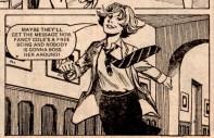 "What Fancy hopes to get out of her difficult behaviour. From ""Fancy Free!"", Jinty & Penny 28 March 1981."