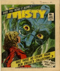 Misty cover, 1 September 1979. Art by Mario Capaldi.
