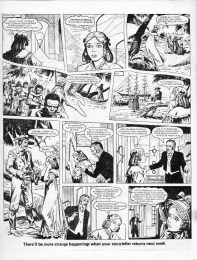 The Middle Passage. Strange Story from Tammy 19 November 1977. Art Mario Capaldi.