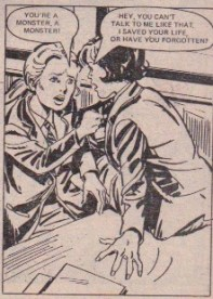 "What Rachel thinks of the trick Jean pulled to get Clare expelled. From ""Waves of Fear"", part 12, 8 December 1979."