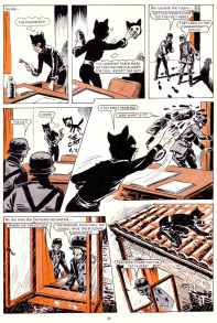 Catch The Cat story from Bunty annual 1980.