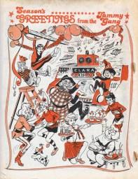 Tammy 1977 Christmas celebrations