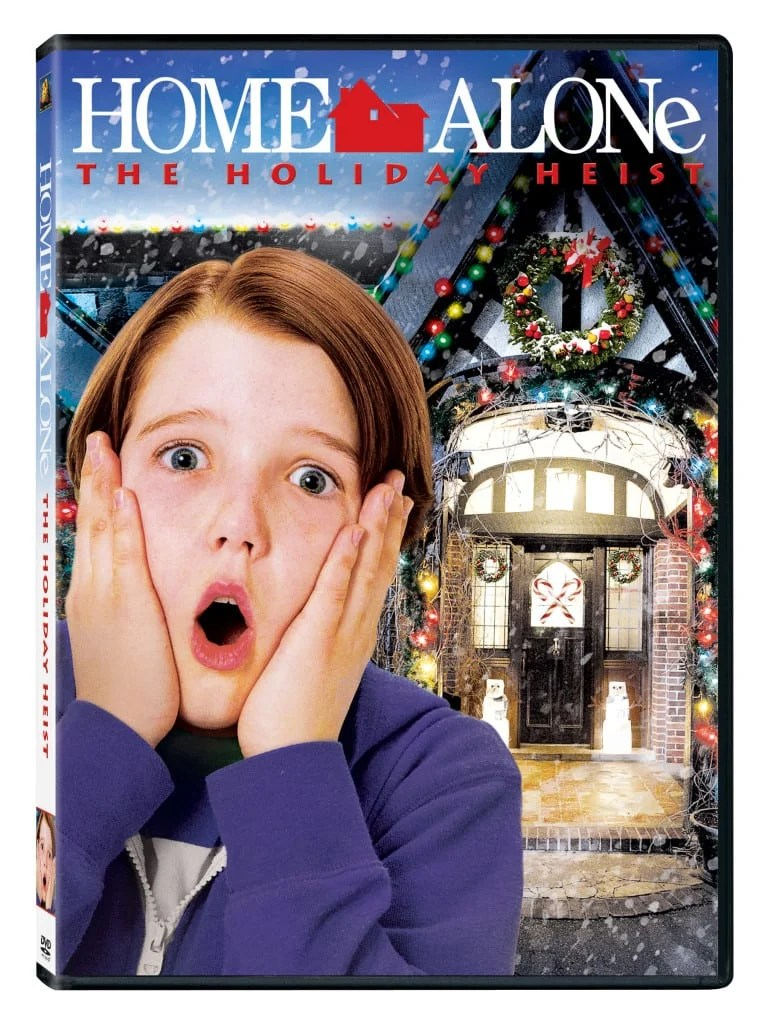 New Age Mama Home Alone The Holiday Heist DVD Giveaway