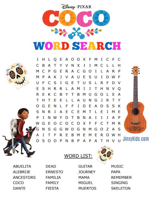 Answers La Word Search Familia