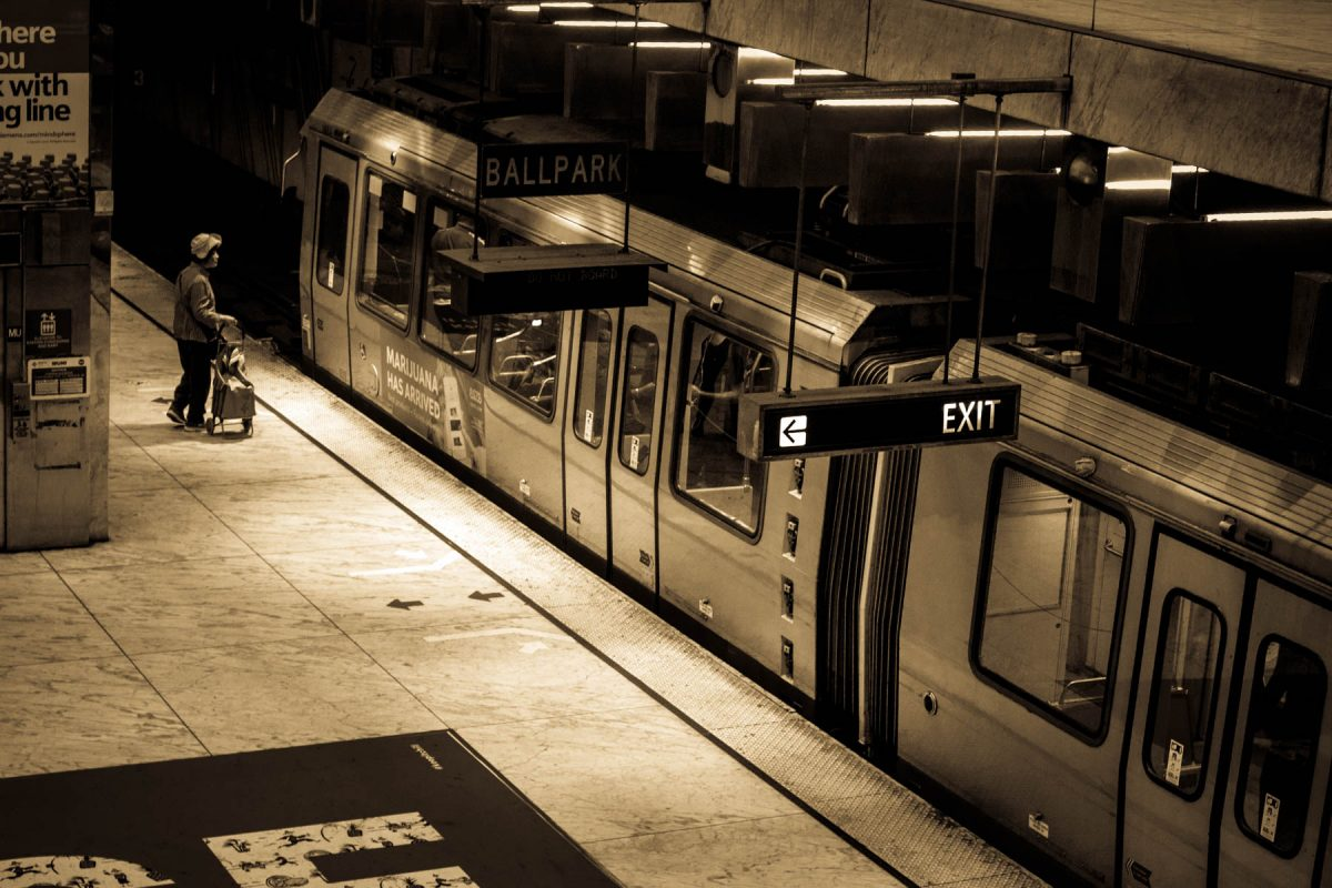 Bart Station by Jim Berger