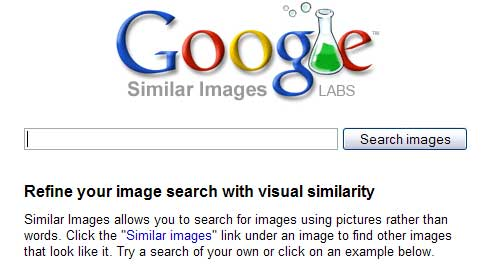 google labs Similar images