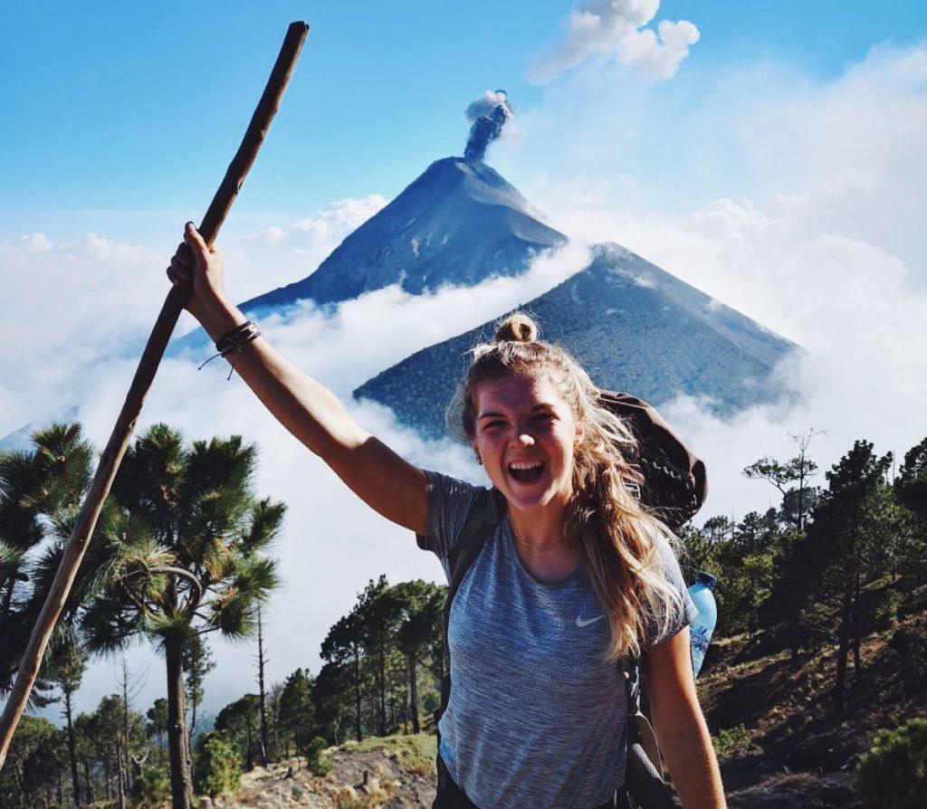 vulkaan hike acatenango