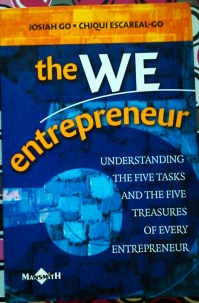 The We Entrepreneur by Josiah Go and Chiqui Escareal-Go