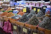 Fresh seafood market