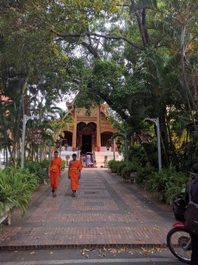 Young monks and old temples.