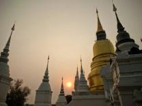 Sunrise in Chiang Mai.