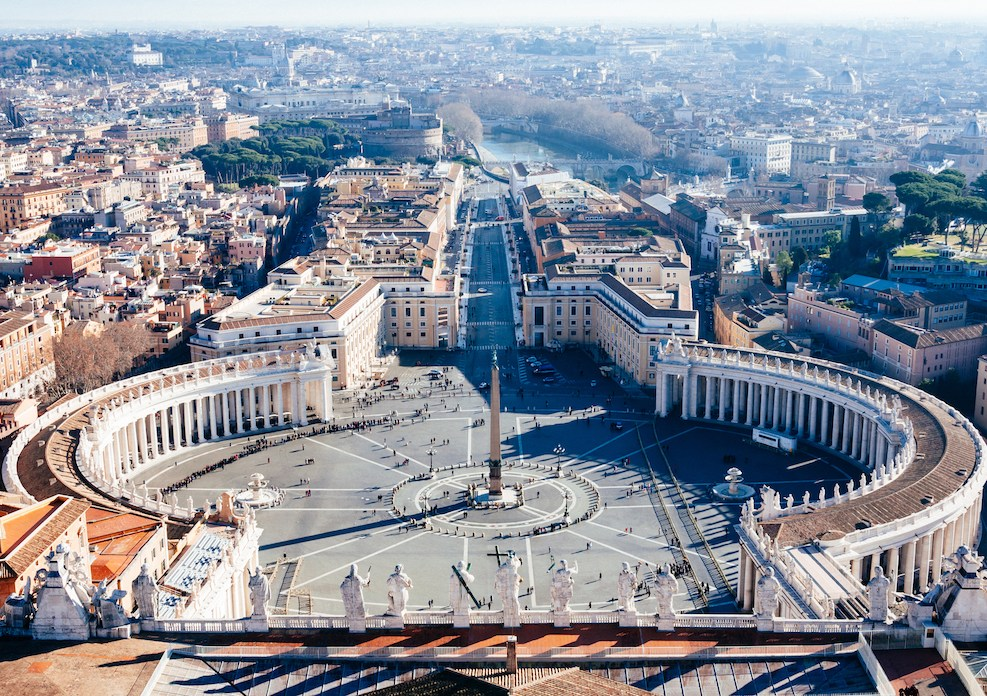 St Peter's square, Vatican