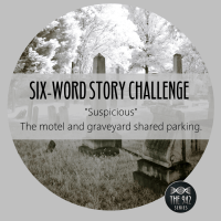 "Six-Word Story Challenge - ""Suspicious"""