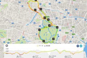 江戸川橋から皇居までの往復ランニングコース