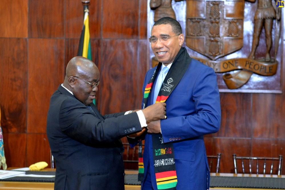 Accord diplomatique : Plus d'obligation de visa entre le Ghana et la Jamaïque