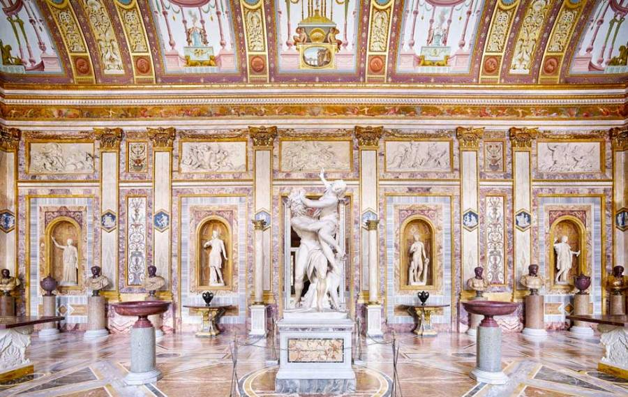 Tuesday in Rome: Borghese Gallery