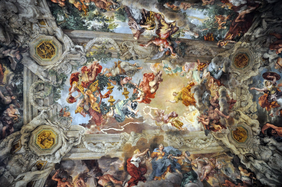 Tuesday in Rome: Palazzo Barberini