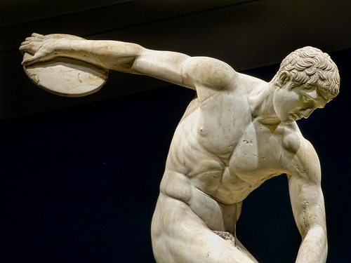 Student Series! Male Beauty in Ancient Greece