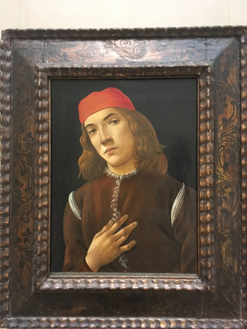 Portrait of a Youth, Sandro Botticelli c. 1482 1485