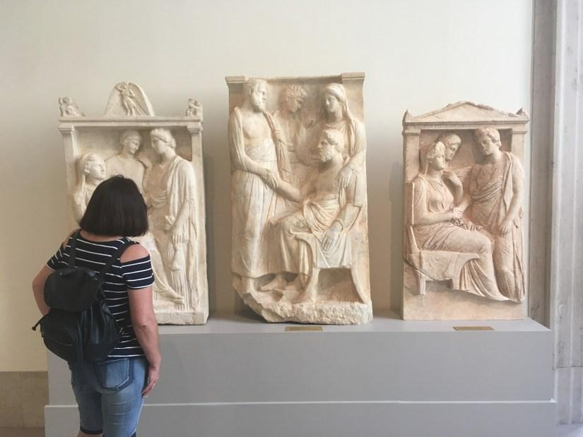 Met-Greek stele with lady