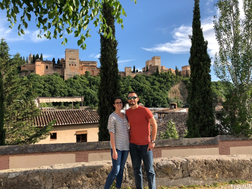 Alhambra-exterior with Will&I