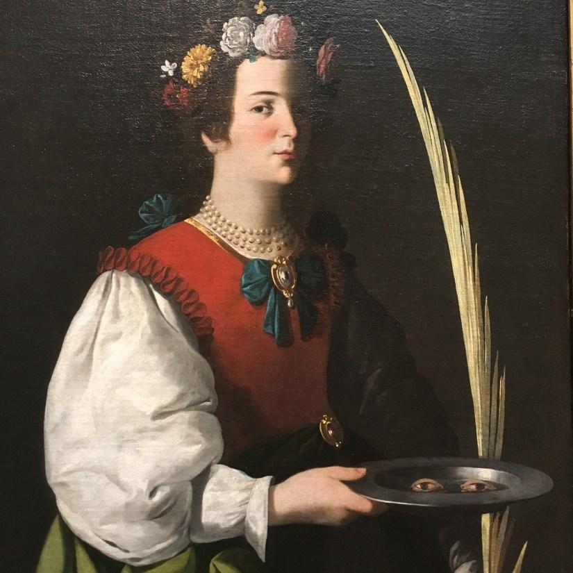 Saint Lucy, Francisco de Zurbaran, c. 1625-1664