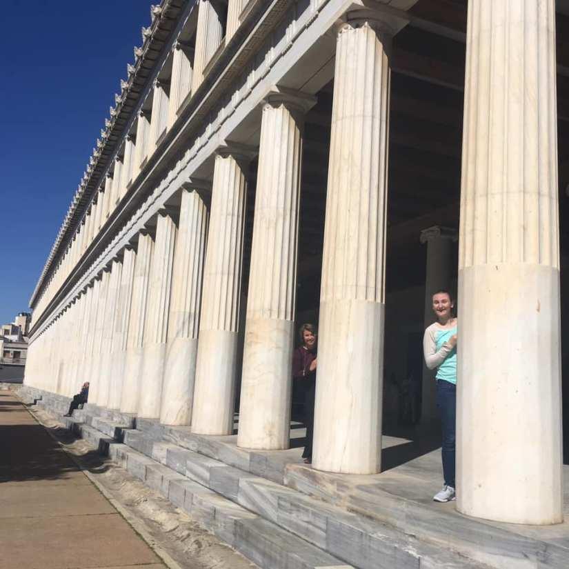 Athens Agora stoa