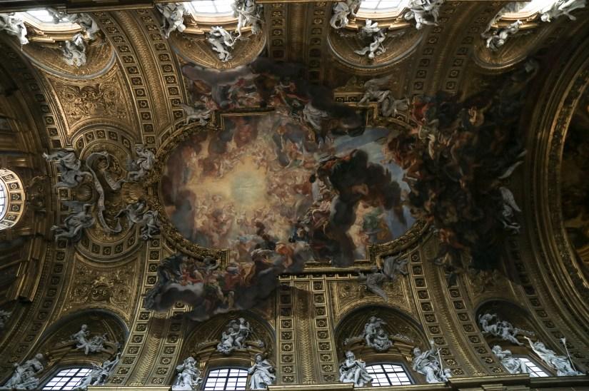 il gesu ceiling-edited