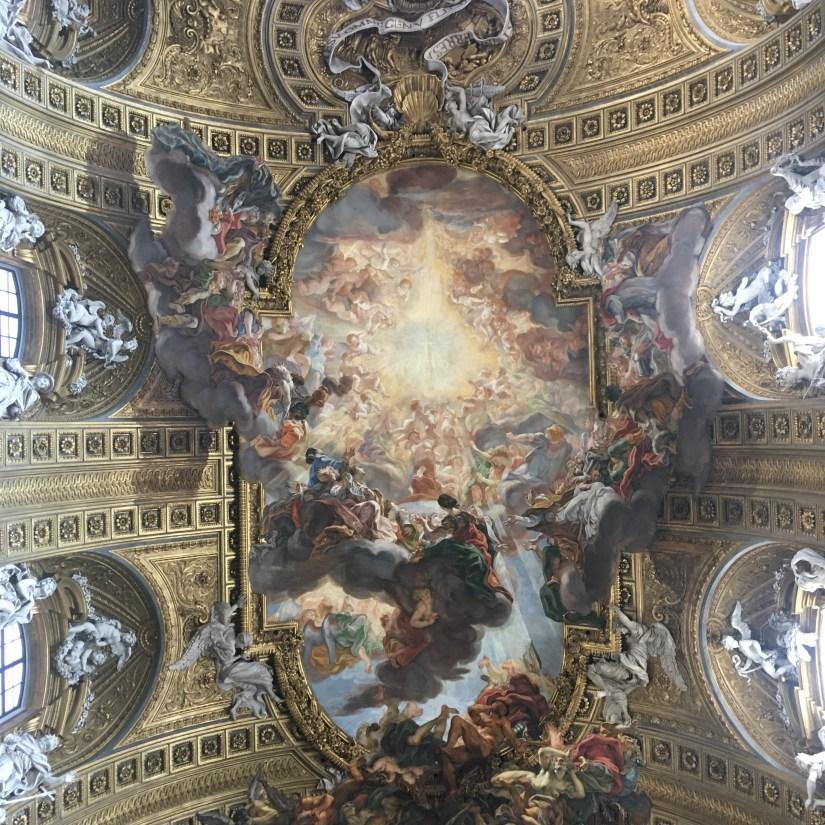 Il Gesu ceiling