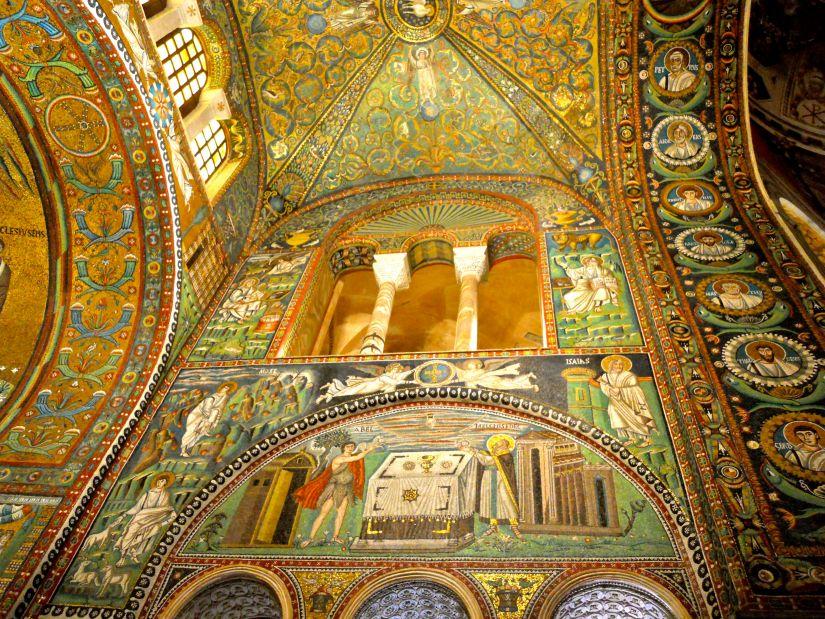 San Vitale apse mosaic