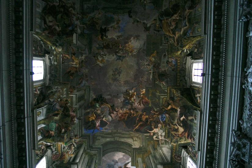 sant'ignazio ceiling