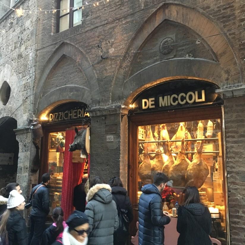 Siena Antico Pizzicheria de Miccoli