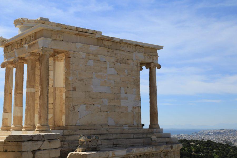 #35. Temple of Athena Nike. Acropolis. Athens, Greece. Iktinos and Kallikrates. c. 447-410 BCE. Marble.