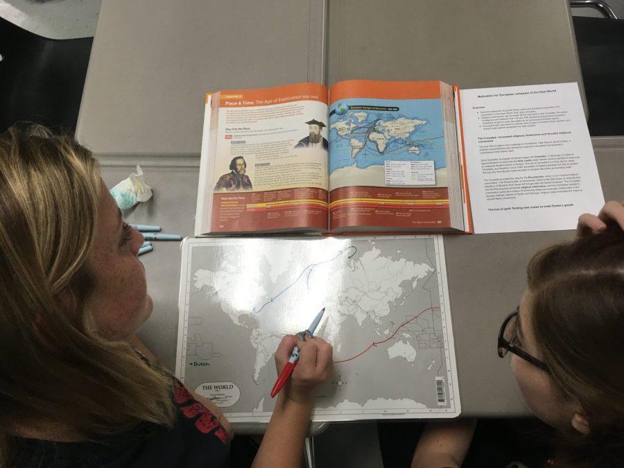 What do I do when I teach history?