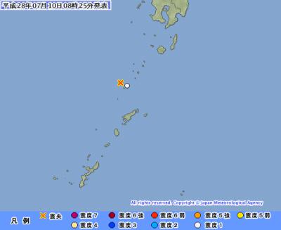 地震予知 国内は中程度の地震注意。