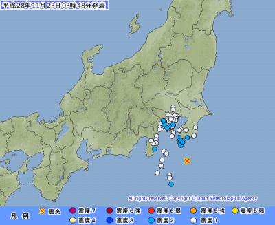 地震予知情報 国内大規模警戒 のこり10日間 福島M6余震にも警戒を