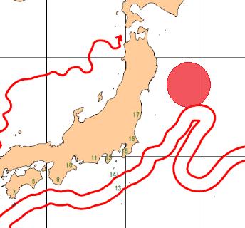 地震予知情報 国内M6~M7超警戒 のこり9日間