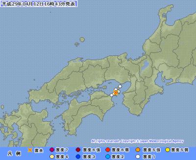 地震予知 予測 日本各地のスタンバイと反応報告