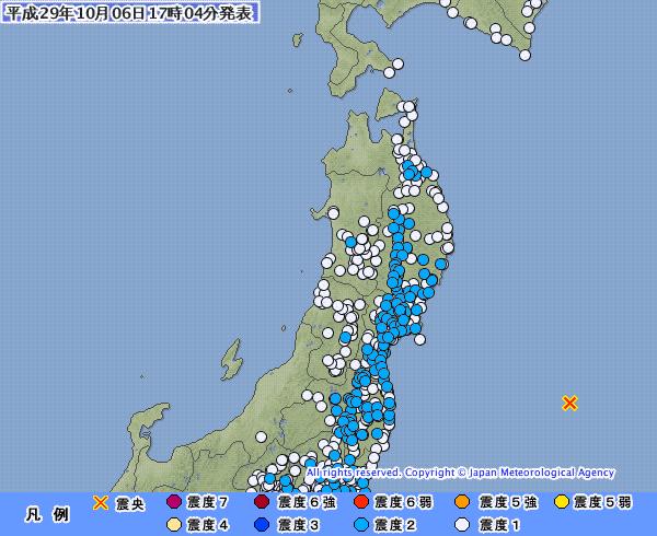 地震予知 福島沖M6.0 国内M7警戒のこり6日間