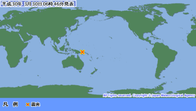 地震予知 国内M6気配 国内M5注意のこり2日間