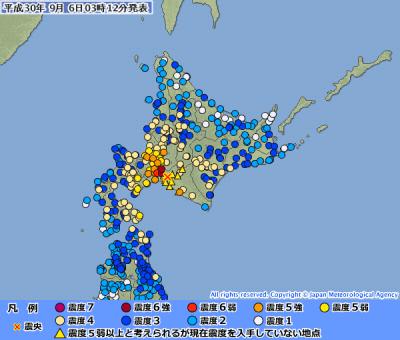 地震予知 国内M6気配継続中(全国)
