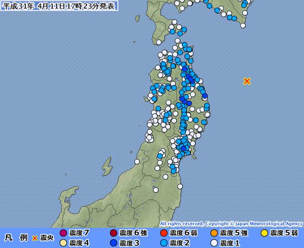 地震予知 国内M6警戒のこり4日間